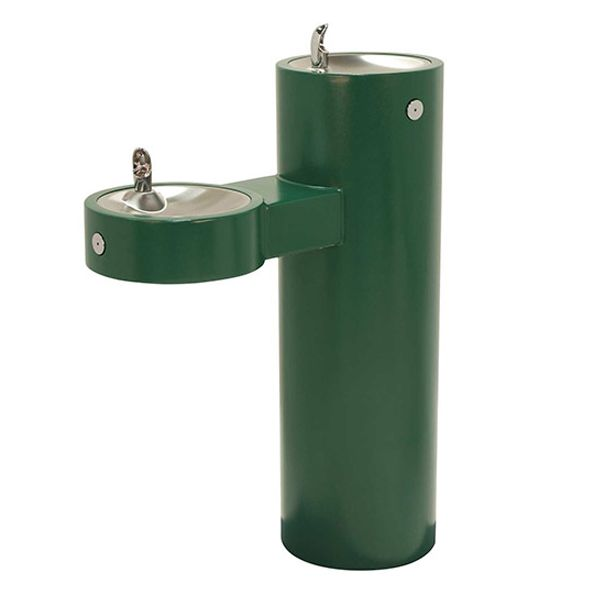 Dual Level Outdoor Drinking Fountain image
