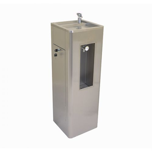 Junior Height Drinking Fountain With Bottle Filling Station image