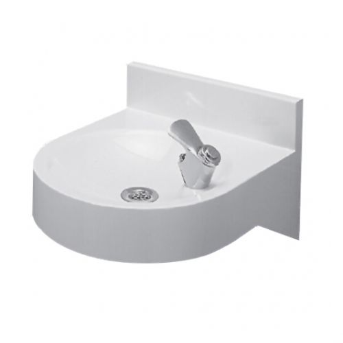 White Coloured Drinking Fountain image